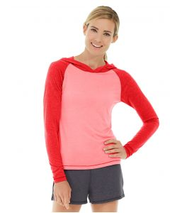 Ariel Roll Sleeve Sweatshirt-XS-Red