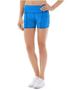 Gwen Drawstring Bike Short-32-Blue